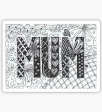 MUM Sticker