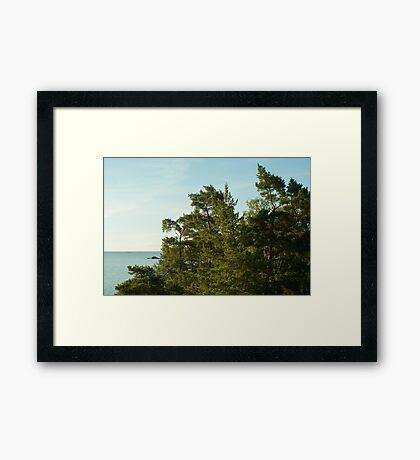 Nynäshamn Framed Print
