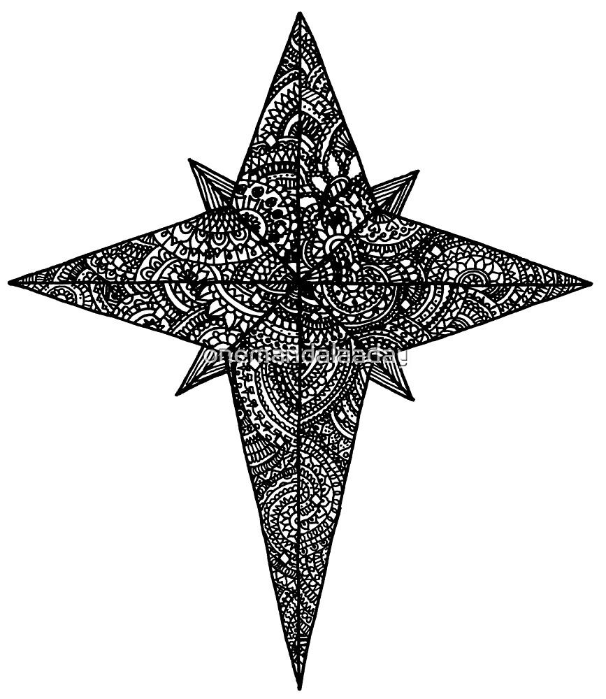 Detailed star - OneMandalaADay by onemandalaaday