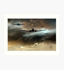 Normandy Invasion Art Print