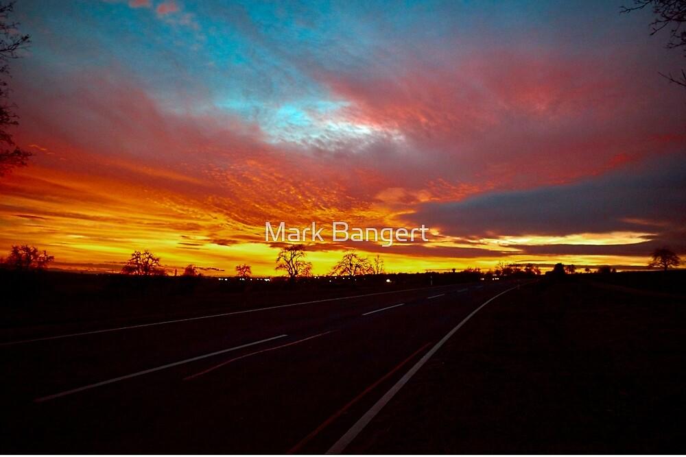 A bit more of a sunset by Mark Bangert