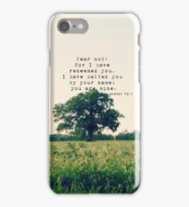 Isaiah Fear Not iPhone Case/Skin