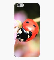 Ladybug & Pink Wildflowers Phone Case iPhone Case