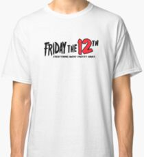 Friday The 12th Classic T-Shirt