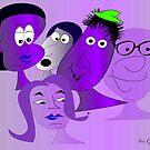 The new Purple Gang by IrisGelbart