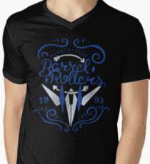 Barrel Rollers Pilots Club Men's V-Neck T-Shirt