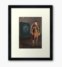 The Lone Centurion Framed Print