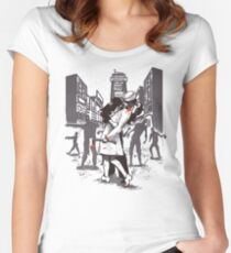 Z-Day Women's Fitted Scoop T-Shirt