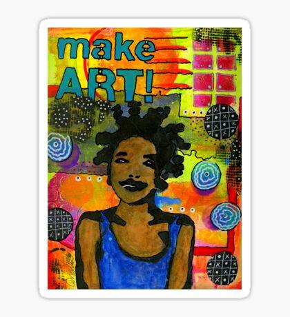 Make ART Sticker