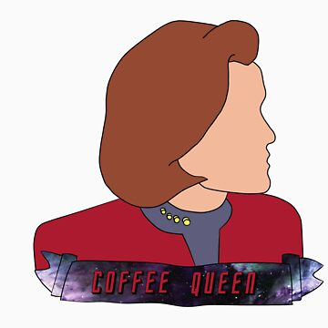 Janeway the Coffee Queen by amymhughes