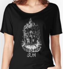 House of the Rising Sun - B&W Women's Relaxed Fit T-Shirt