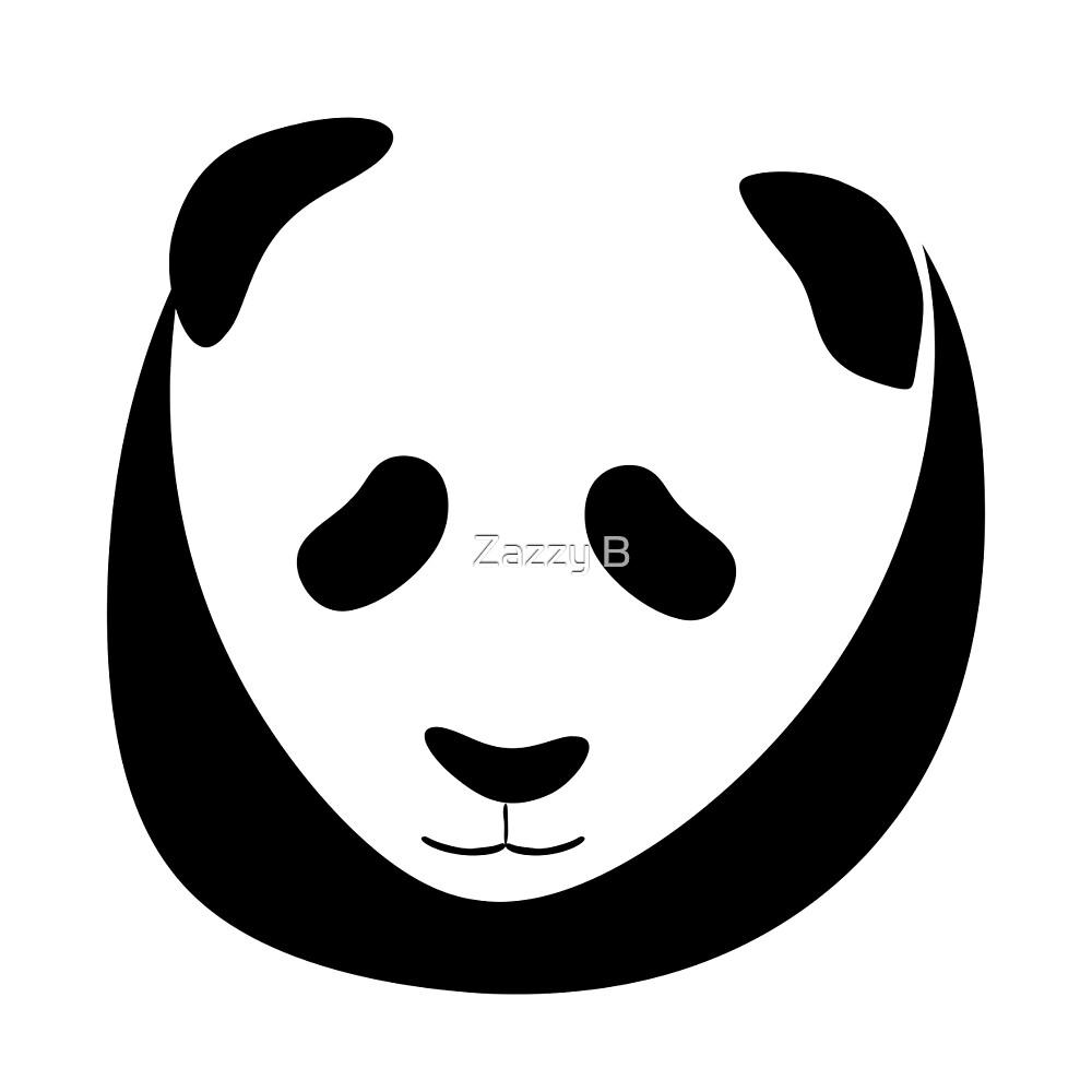 Panda by Zazzy B