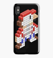 Sawed Off Mario (Cross Section) iPhone Case