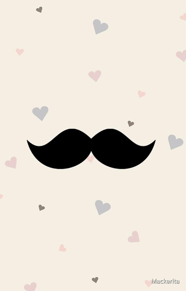 Moustache by Mackerita