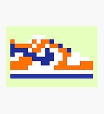 8-bit Kicks (Supa) Photographic Print