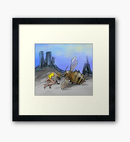 Bee Keeper Framed Print