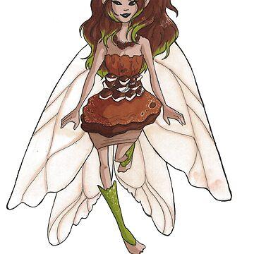 Pinecone Fairy by leannemarie