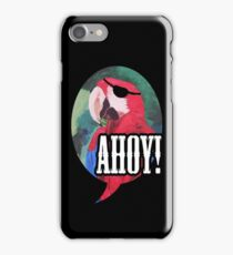 Parrot Pirate Red Scarlet Macaw Bird - iPhone iPad iPhone Case/Skin
