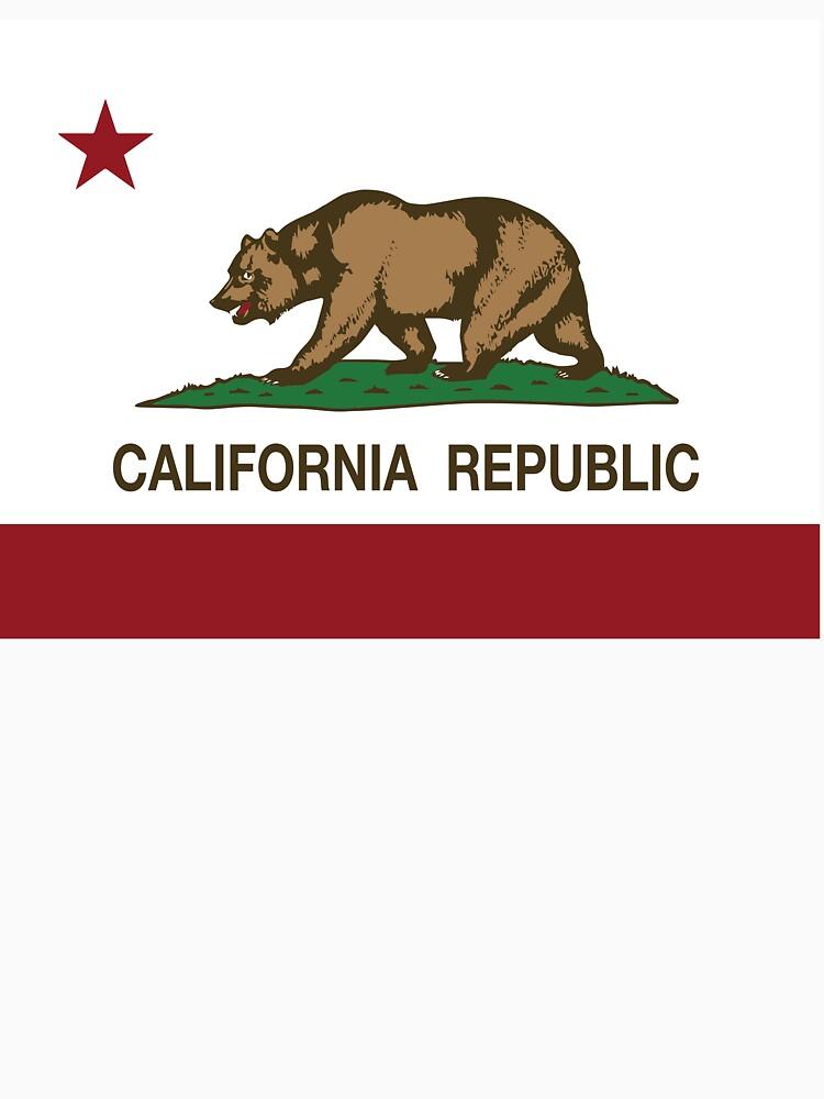 California Republic Flag by NorCal