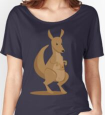 Jeanette the Kangaroo Women's Relaxed Fit T-Shirt