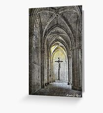 The Light of Salvation  Greeting Card
