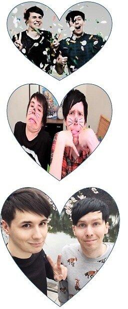 Love Dan and Phil by pixietears