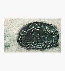 """Turned"" brains Photographic Print"