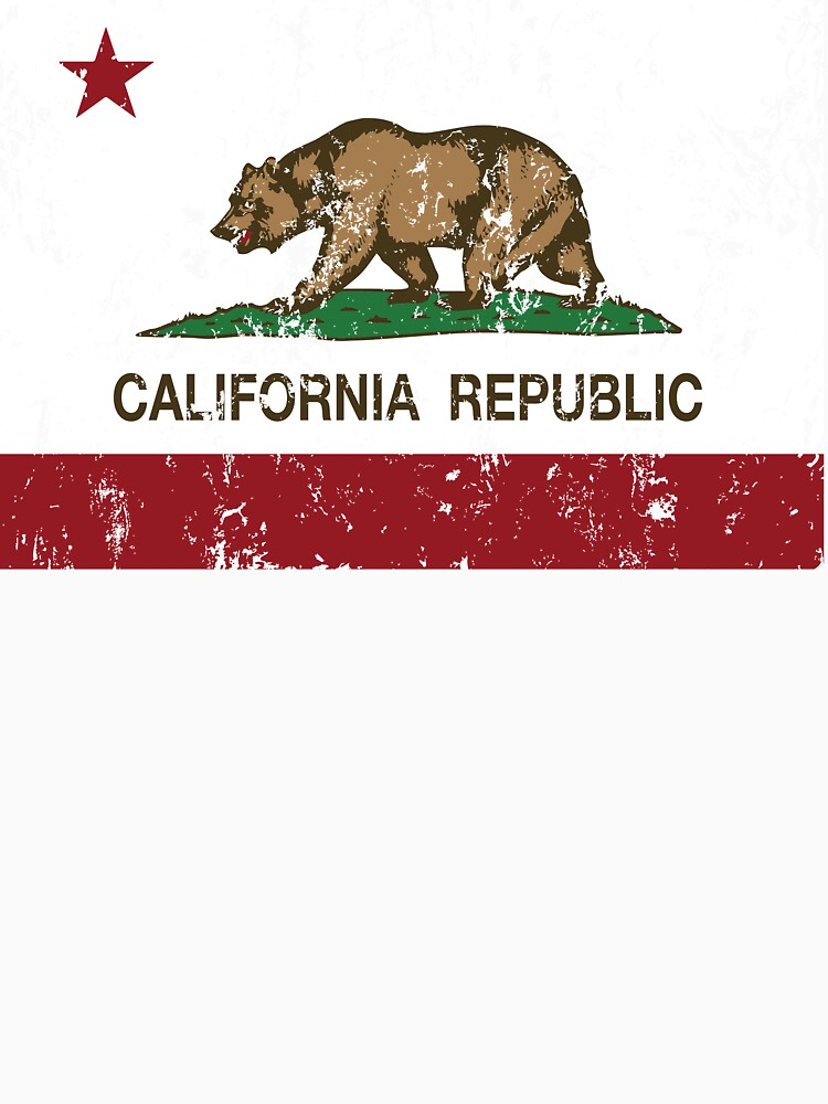 California Republic Grunge Distressed  by NorCal
