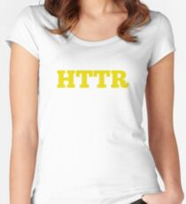 HTTR Women's Fitted Scoop T-Shirt