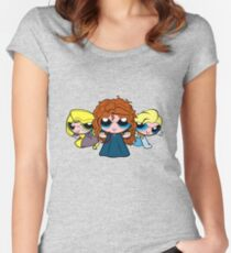 PrincessPuff Girls2 Women's Fitted Scoop T-Shirt
