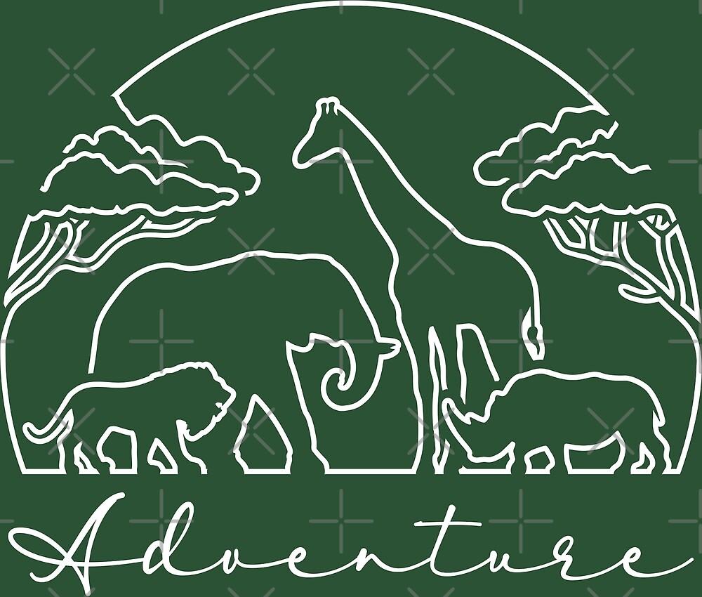 Adventure and Safari in Africa, Light by Bruvi