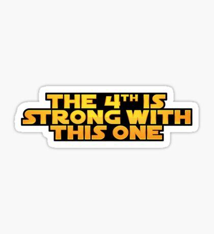 The Fourth Sticker