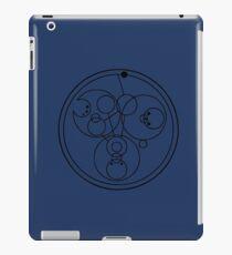 """Come along, Pond"" Translated into Gallifreyan iPad Case/Skin"