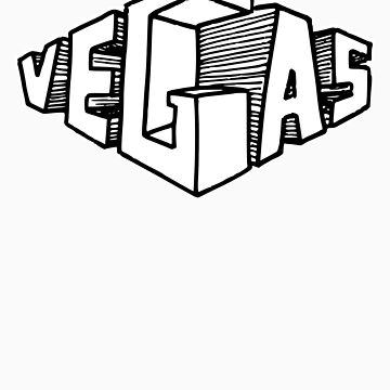 Vegas (for dark shirts) by jcharlesw