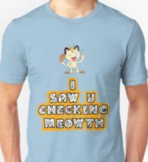 Checking Meowth T-Shirt