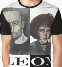 Léon: The Professional Graphic T-Shirt