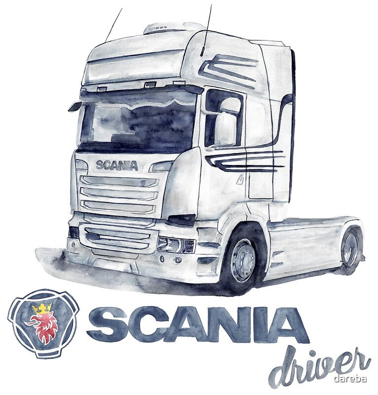 scania truck posters redbubble