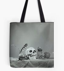Medium Format: Campy Skull Tote Bag