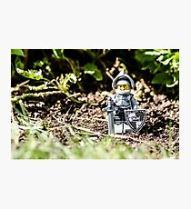 Sir Gleamalot Photographic Print