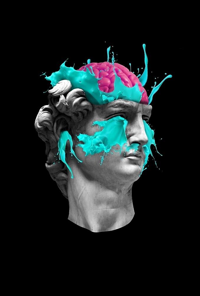 Dave Brain by Julien Missaire