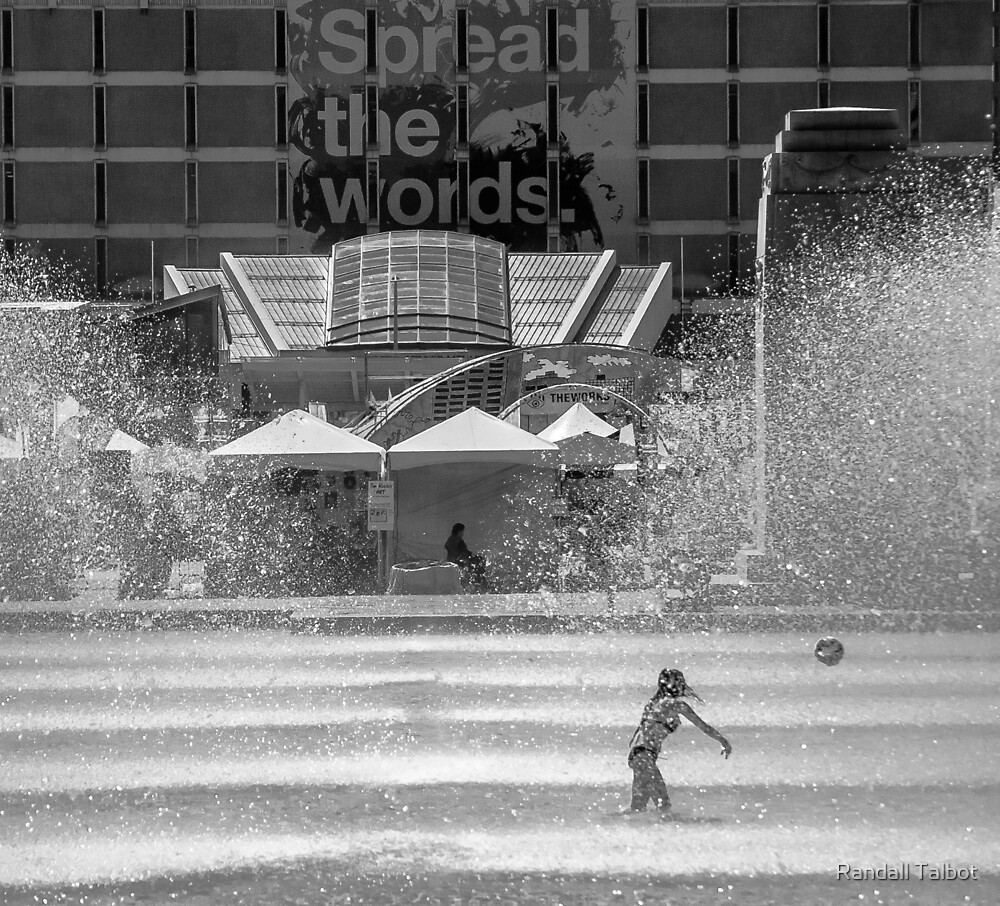 Fountain Play by Randall Talbot