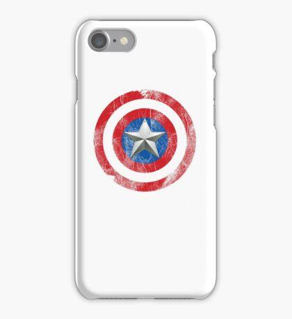 Cap America Shield with star iPhone Case/Skin