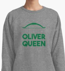 Run like Oliver Queen is waiting at the finish line Lightweight Sweatshirt