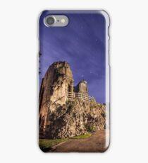 Knaresborough Castle Ruins overlooking the River Nidd iPhone Case/Skin