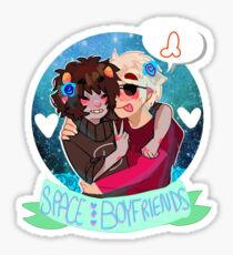 Space Boyfriends Sticker Sticker