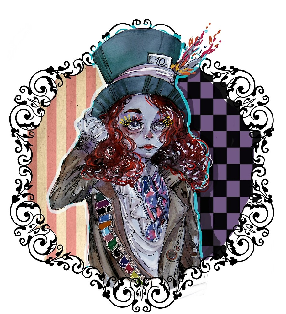 Mad Hatter by lyrart