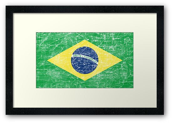 flag of brazil by maydaze