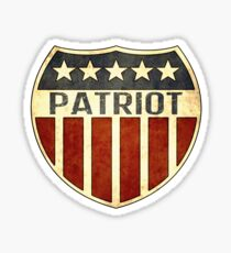 Patriot Shield Sticker