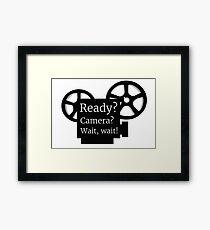 Movie Film Director Buff Framed Print