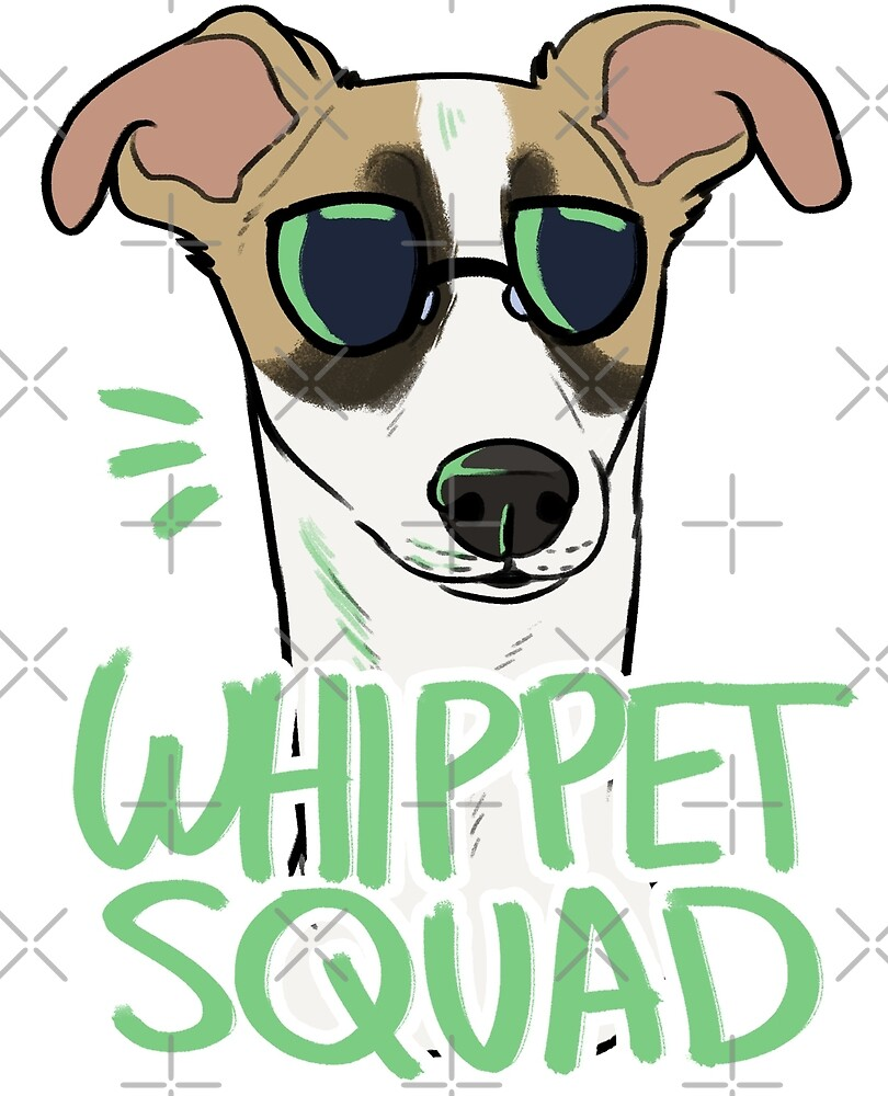 WHIPPET SQUAD (red sable) by Dany Gonzalez